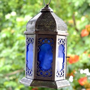 Antikcart Carved Moroccan Style Room Lantern Decor OUTDOOR VIEW