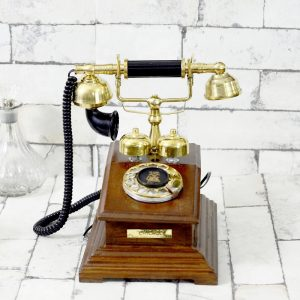 Antikcart Classic Chicago Vintage Round Dial Telephone main pic
