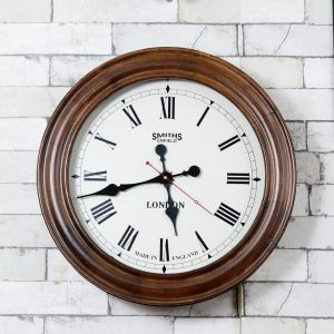 Antikcart Classic Large Dial Smith Enfield Ship Cabin Wall Clock
