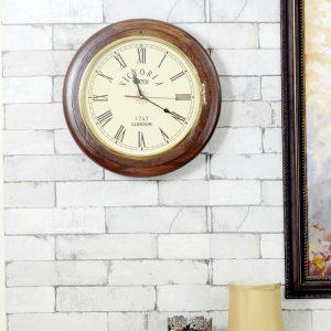 Antikcart Classic Victorian 1747 London Wall Clock main pic