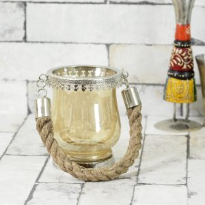 Antikcart Handicraft Hanging Glass Candle holder