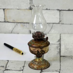 Antikcart Marvellous Old Time Small Brass Chimmini lamp lantern