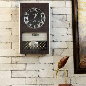 Antikcart Master Time Dater Silver Dial Antique Bim Bam Clock