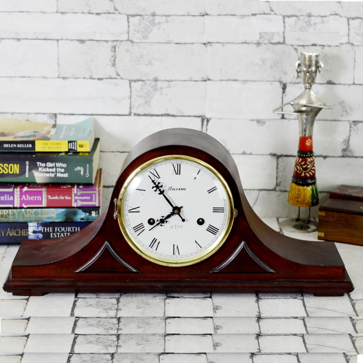 Maxim Polaris Japanese Mantel Clock Antikcart