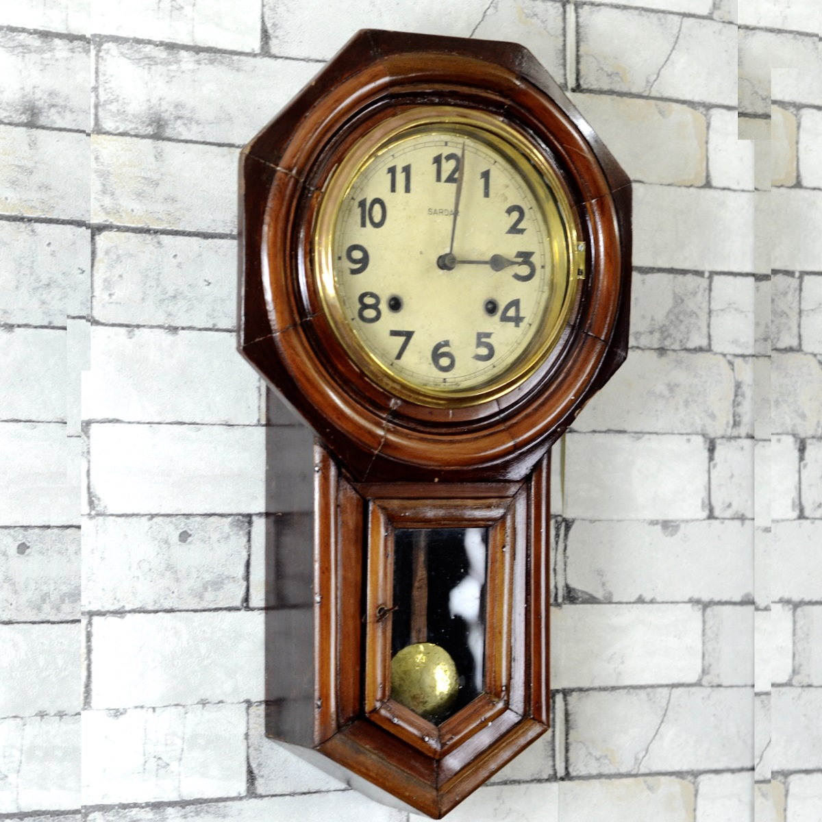 Antique Sardar Seikosha Pendulum Wall Clock Antikcart