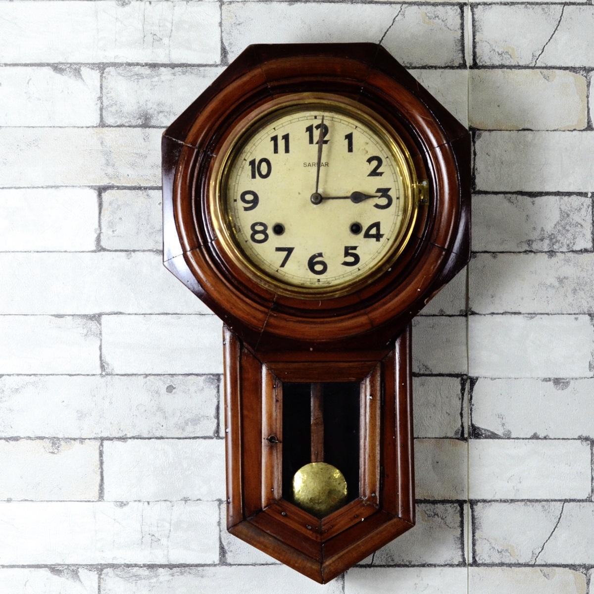 Antique Sardar Seikosha Pendulum Wall Clock Antikcart