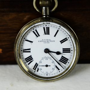 Antikcart Antique Swiss Made Satisfaction Pocket Watch