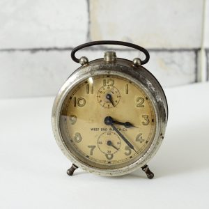 Antikcart Antique West End Table Time Piece Clock