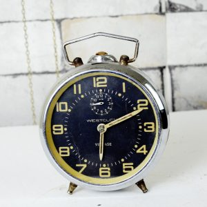 Antikcart Antique Westclox Vintage Timepiece Clock Collectible antikcart