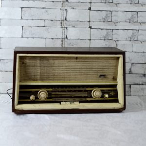 Antikcart Vintage Telerad Antique Valve Radio