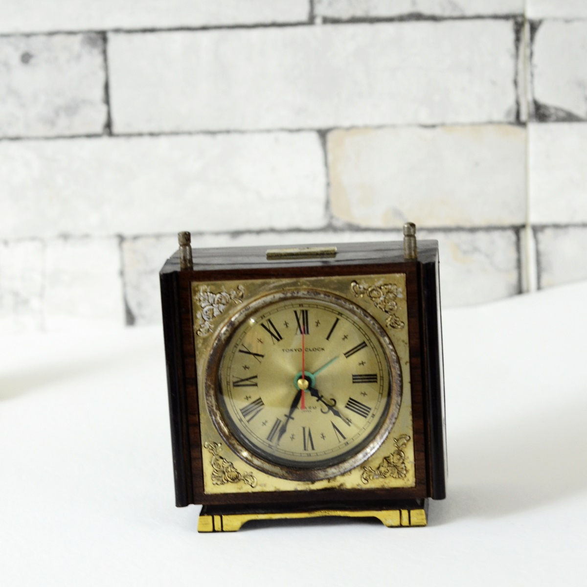 Antique Musical Japanese Table Clock Antikcart