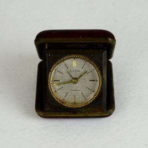 Antikcart Antique 2 Jewels Europa Travel Carry Alarm Clock