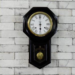 Antikcart Antique Ansonia Regulator A Pendulum Wall Clock