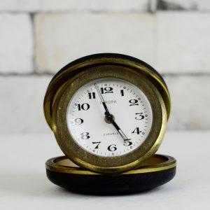 Antikcart Antique Europa Easy Travel Carry Alarm Clock