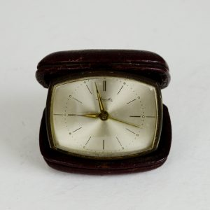 Antikcart Antique Mauthe Travel Carry Pocket Alarm Clock