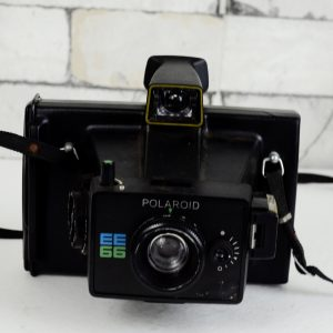 Antikcart Antique Retro Camera - Polaroid EE66 Model Collectible CLOSE VIEW