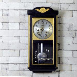Antikcart Antique Rivex Bim Ba Pendulum Wall Clock - 2.2 ft