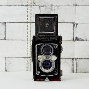 Antikcart Antique Yashica 635 TLR Camera Collectible