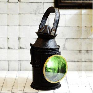 Antikcart Old Vintage Authentic Indain Railway Signal Lamp