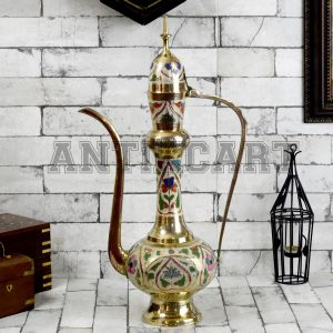 Antikcart 24 Inches Arabian Dallah Made of Brass main view