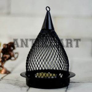 Antikcart Handcrafted Metal Hanging Tea Light Candle Holder main pic
