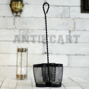 Antikcart Metal Handcrafter 3 Container Hanging Candle Holder