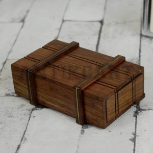 Antikcart Sheesham Wood Handcrafted Wooden Mystery Storage Box