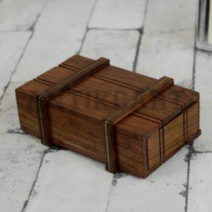 Antikcart Sheesham Wood Handcrafted Wooden Mystery Storage Box