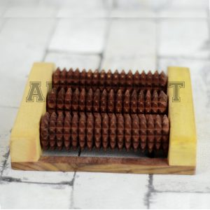 Antikcart Wooden Handicraft Foot Massage Roller
