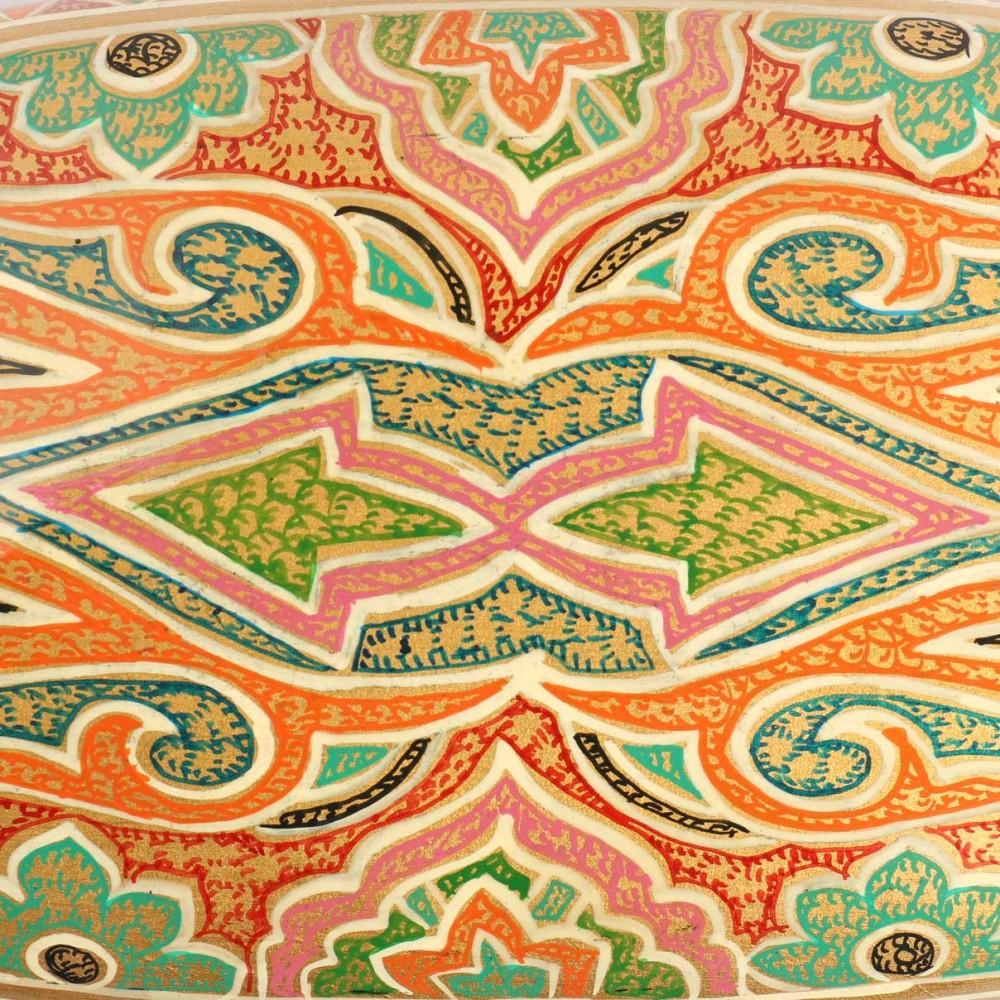 Badum Daar Artwork Handicraft Papier Mache Box - Antikcart