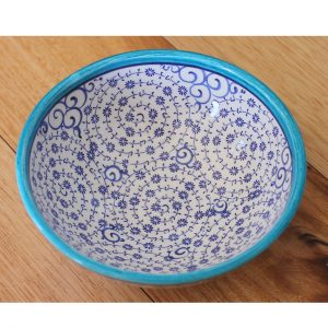 Antikcart Handmade Beautiful 'Halic' Ceramic Salad Bowl - Salad Bowl