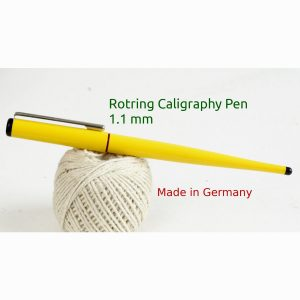 calligraphy fountain pen rotring german