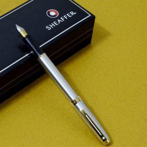 Sheaffer prelude chrome fountain pen