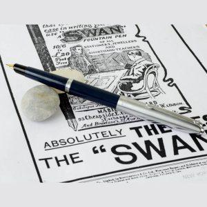 swan president fountain pen