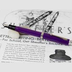 sheaffer vintage fountain pen