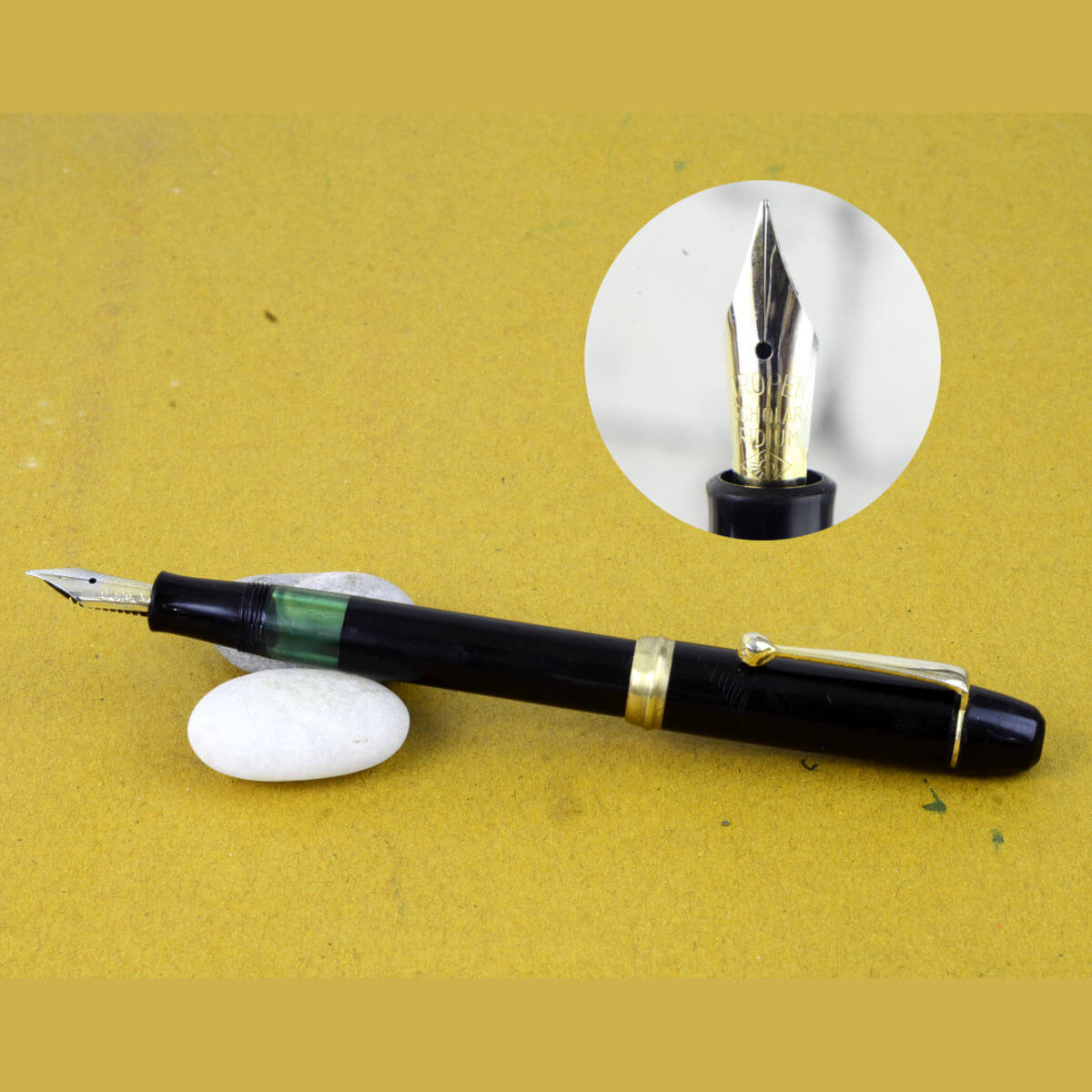 Buy Tropen Scholar Piston Filler Fountain Pen With Semi Flex Nib
