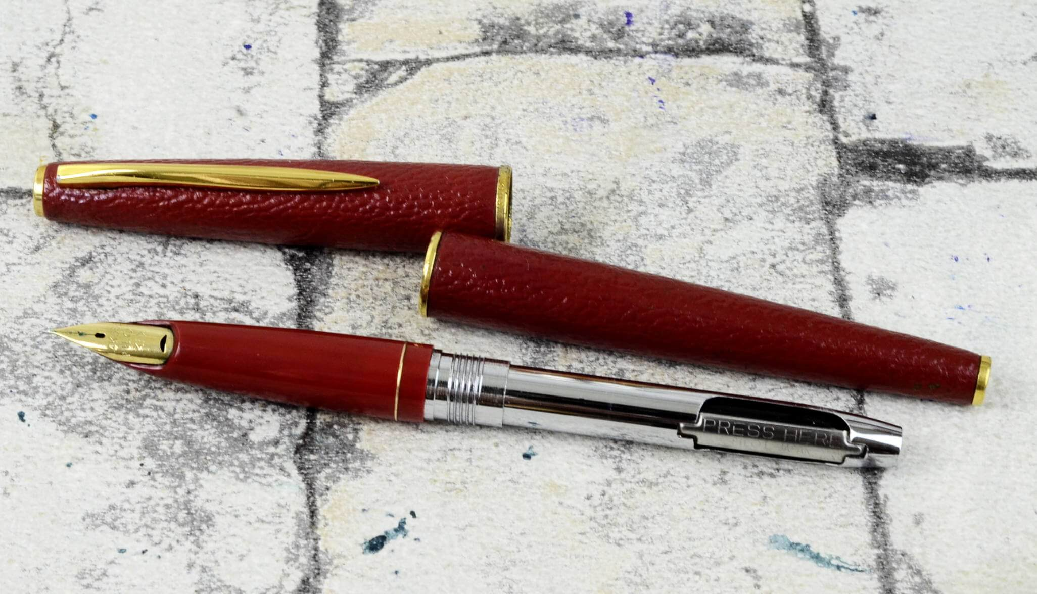 Buy Vintage Pilot 14k 585 Kawarinuri Fountain Pen Wth 14k