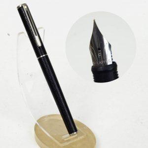 sheaffer agio leather fountain pen