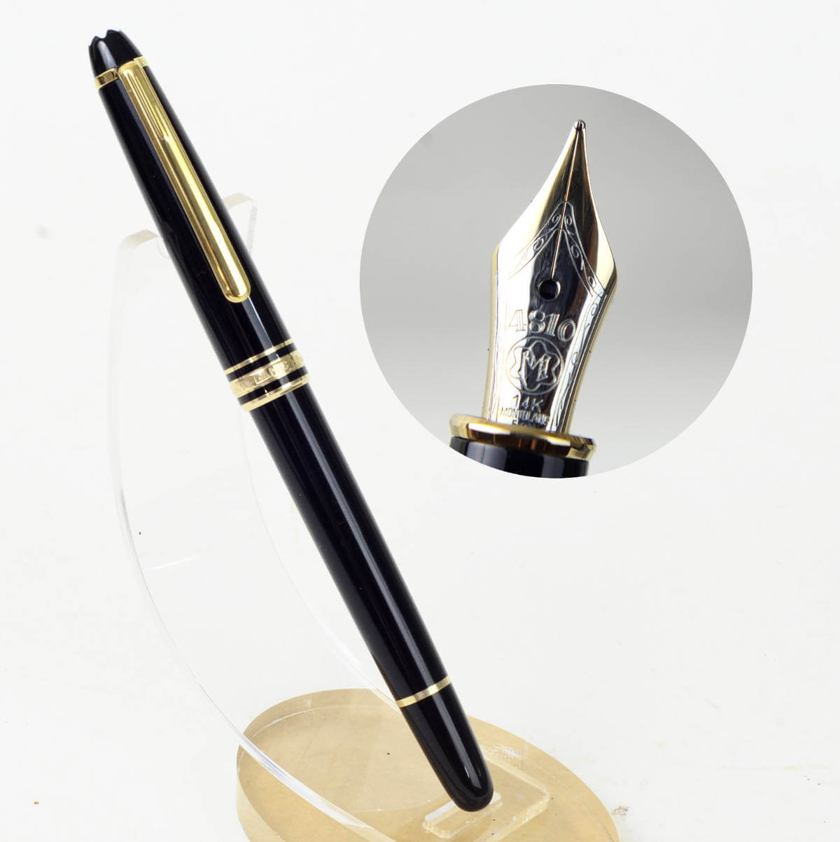 Buy Montblanc Meisterstuck 144 Fountain Pen 14k Dultone Gold Nib Online