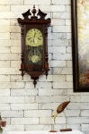 Antikcart Vintage Style 31 days Carving Maxim Pendulum Wall Clock