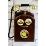 Antikcart Vintage Rotary Phone Wall Mount wall decor