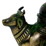 Antikcart Brass Holy Water Dispenser Container COW HEAD ANTIKCART