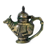 Antikcart Brass Holy Water Dispenser Container