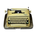 Antikcart Antique Olympia Monica Typewriter