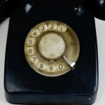 Antikcart Vintage Retro ITI Telephone Collectible dial view