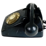 Antikcart Vintage Retro ITI Telephone Collectible side view