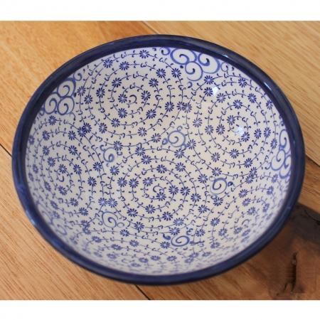 Antikcart Handmade Beautiful 'Halic' Serving Ceramic Bowl - 12cm-bowl2