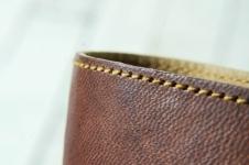Genuine leather premium pen case