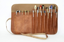 leather-pen-rollup-case-genuine-leather