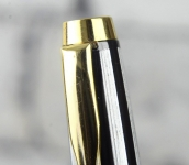 wing-sung-vintage-silverline-fountain-pen-dualtone-triumph-F-nib-NOS-gold-trim